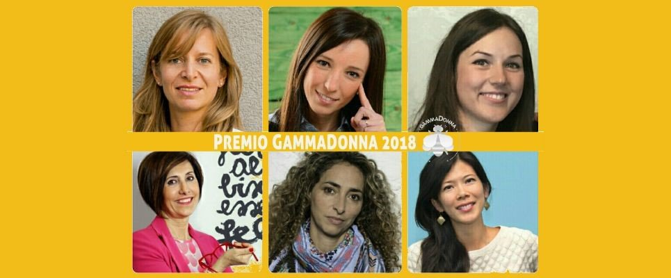 Premio GammaDonna: le finaliste 2018!