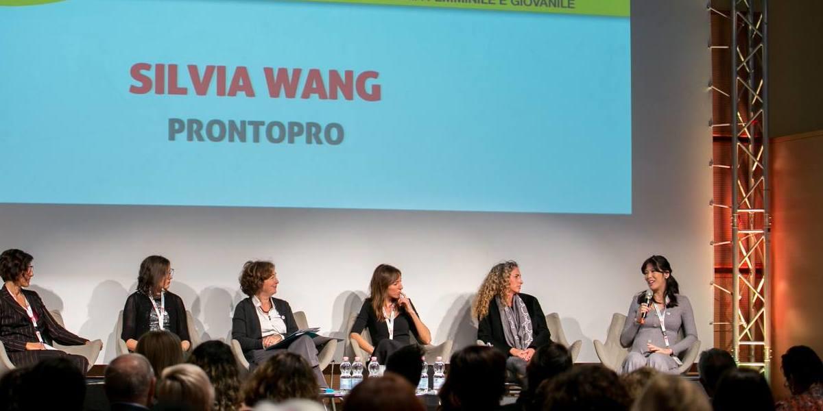Silvia Wang, fondatrice di ProntoPro, vince il premio GammaDonna 2018